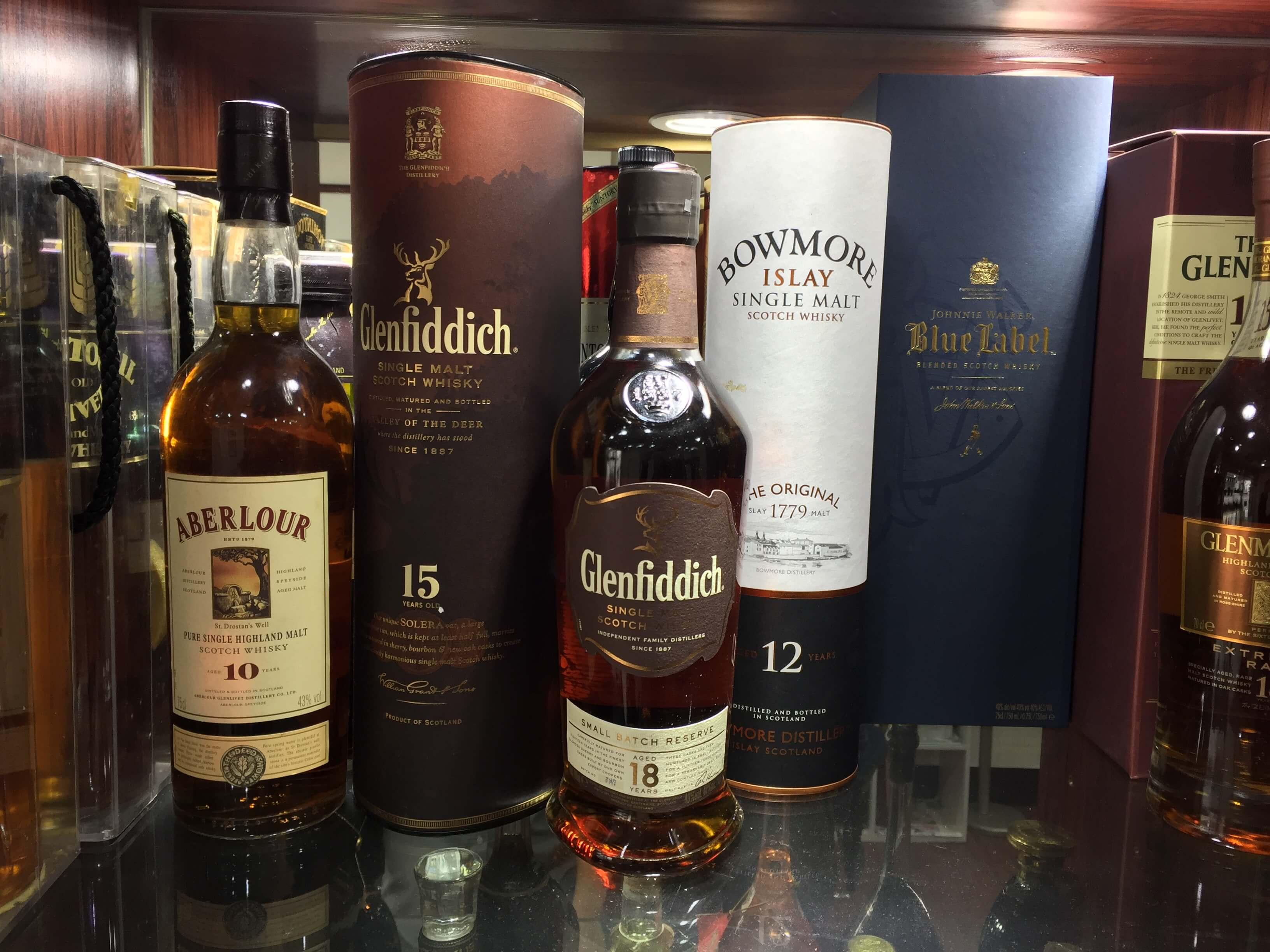 威士忌酒款